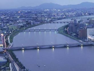 新潟の街並のイメージ