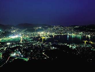 長崎 稲佐山からの夜景 イメージ  ※画像はイメージです。食事・観光は別料金です。