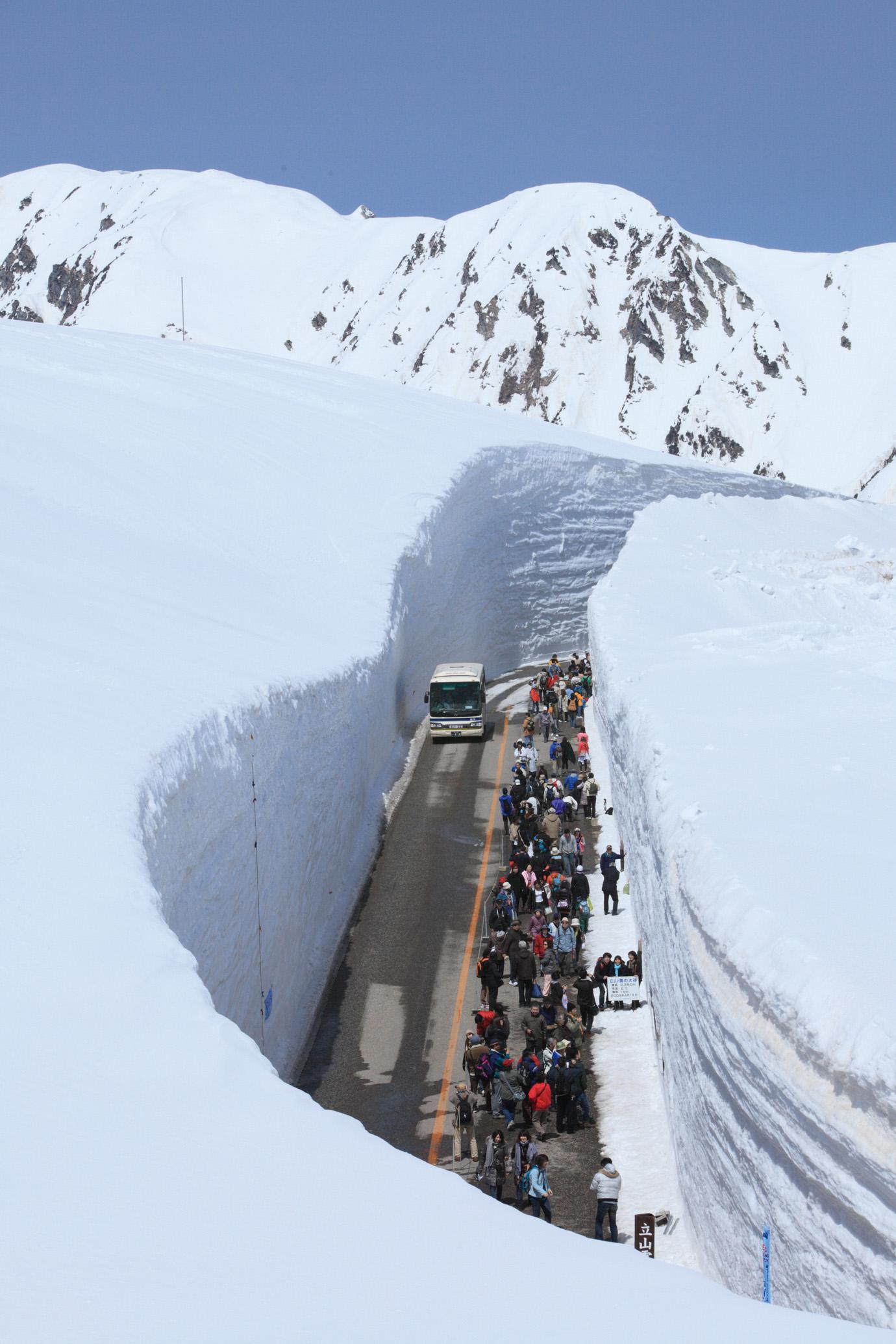 雪の大谷のイメージ(期間限定)