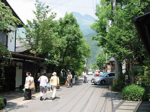 湯布院・湯の坪街道(イメージ)