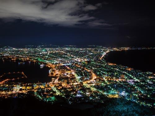 函館山夜景(イメージ) 世界三大夜景のひとつ!
