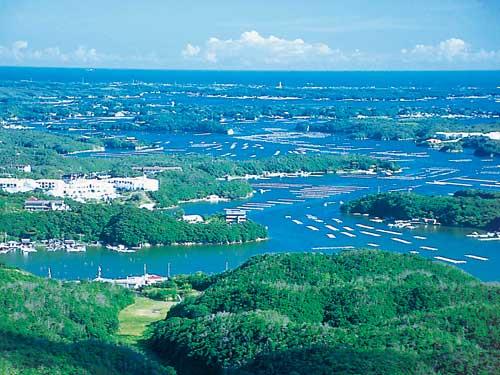 横山展望台からの眺望のイメージ