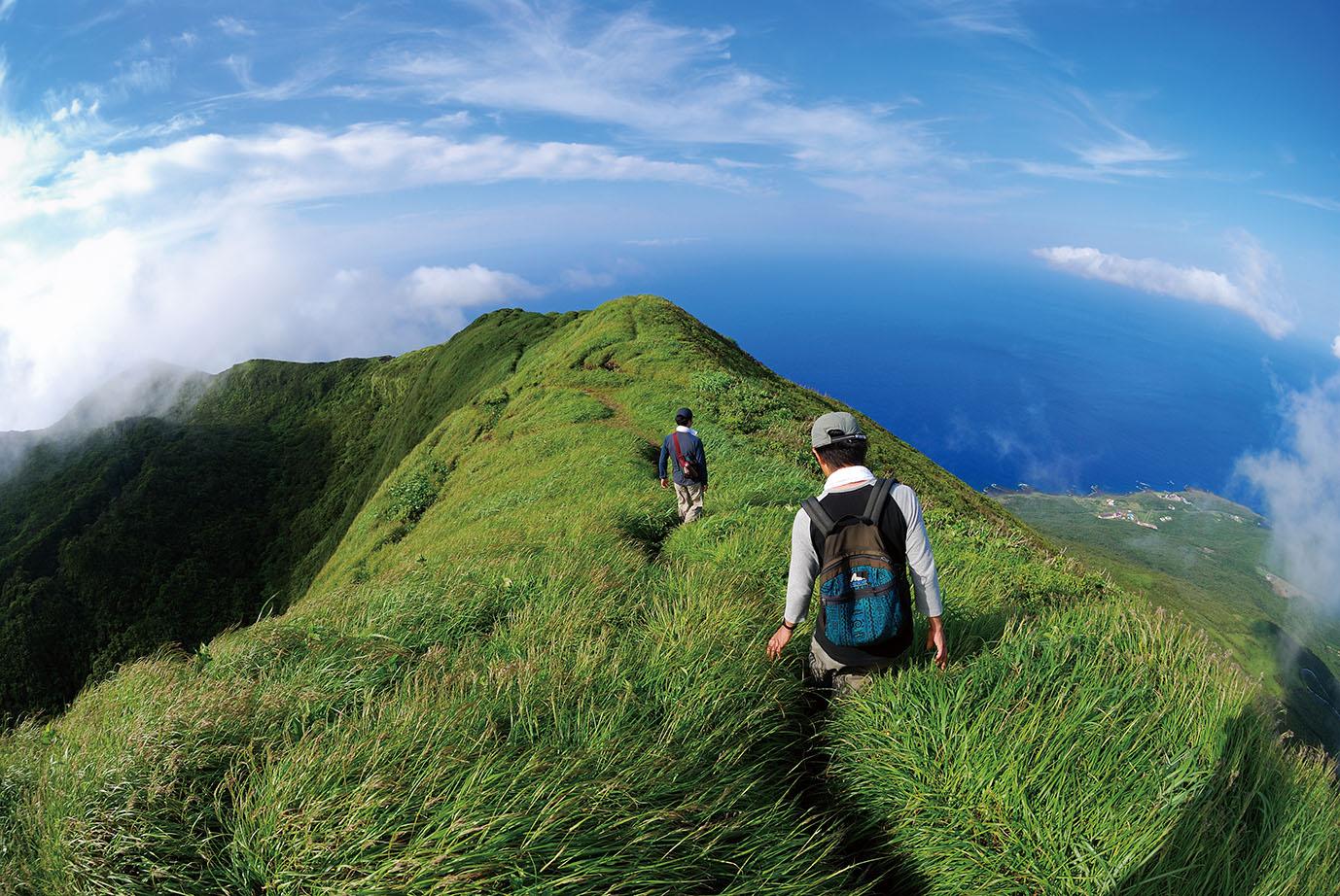 八丈島 八丈富士のイメージ