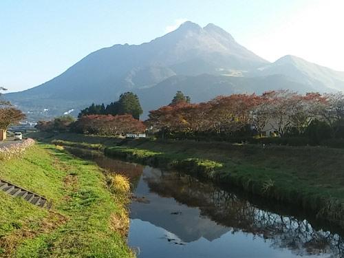 由布岳(湯布院から望む)のイメージ