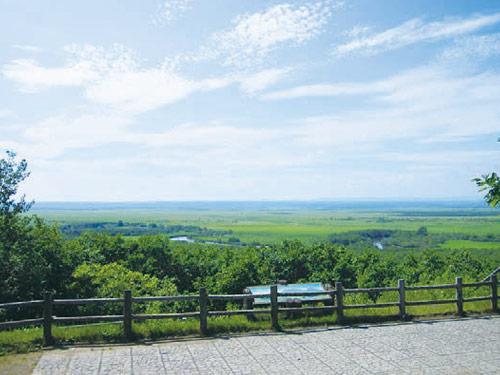 ひがし北海道 イメージ ※釧路湿原 細岡展望台からの眺め(夏頃)