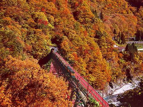 黒部峡谷鉄道のイメージ ※別途代金要