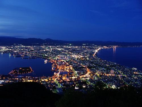 函館山夜景 ※定期観光バス乗車券付