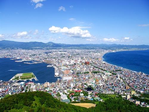 函館 イメージ(函館山からの景色)