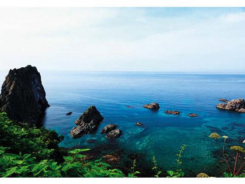 島武意(しまむい)海岸 7月頃撮影