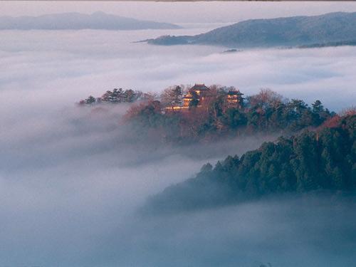 備中松山城(遠望)のイメージ