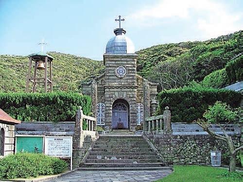頭ケ島教会 ※写真撮影・掲載に当たっては大司教区の許可をいただいています
