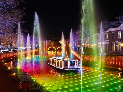 ハウステンボス 光と噴水の運河クルーズ イメージ