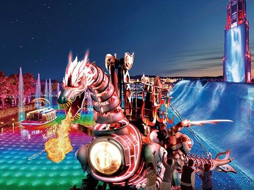 ハウステンボス光の王国コースのイメージ