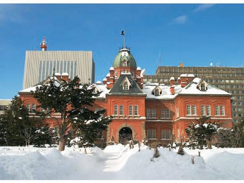北海道庁 旧本庁舎(2月頃撮影)
