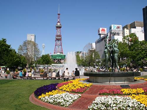 札幌・大通公園(5月撮影)(イメージ)