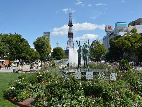 札幌 イメージ ※大通公園(9月撮影)