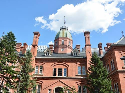 札幌 イメージ ※北海道庁旧本庁舎(9月撮影)
