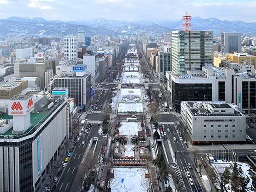 札幌 イメージ 大通公園(冬)