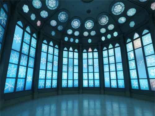 雪の美術館(クリスタルルーム)のイメージ