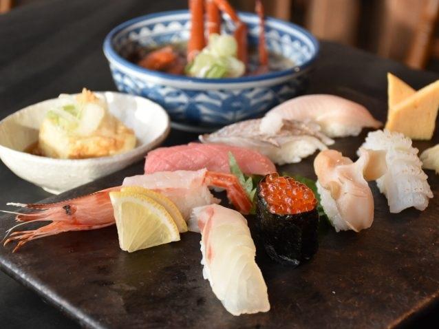 まち歩き限定寿司ランチのイメージ