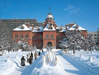 北海道庁旧本庁舎(冬)