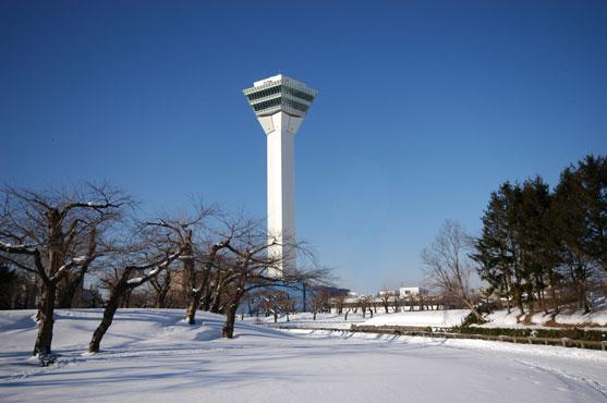 五稜郭タワー(冬)のイメージ