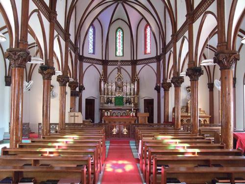 青砂ヶ浦教会(イメージ)