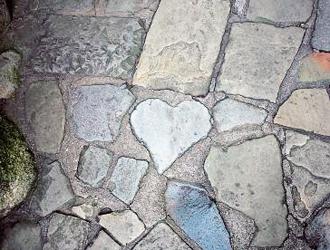 グラバー園(入園券付) ハートの石のイメージ