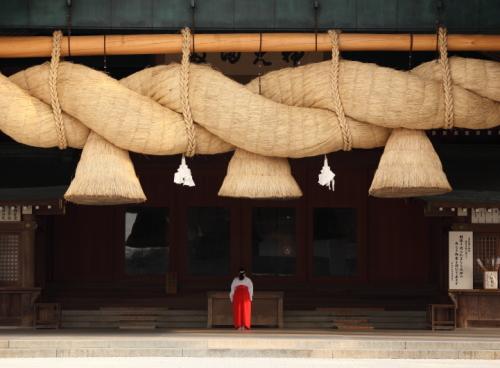 出雲大社神楽殿 イメージ