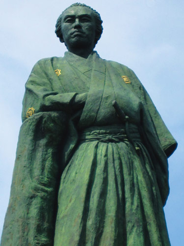 坂本龍馬像のイメージ
