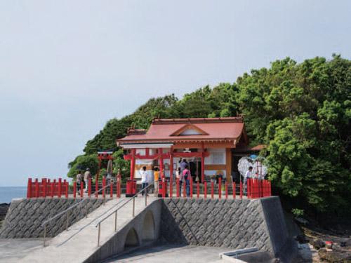 指宿 釜蓋神社 イメージ