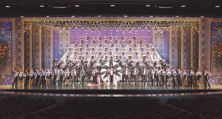 宝塚のイメージ