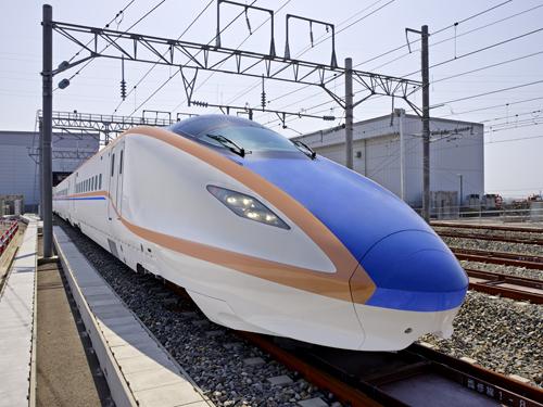 北陸新幹線 w7系のイメージ