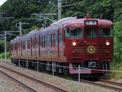 観光列車「ろくもん」のイメージ