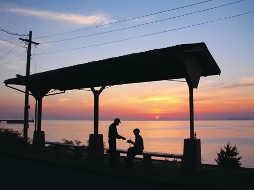 下灘駅のイメージ