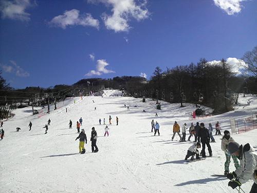 軽井沢プリンスホテルスキー場のイメージ