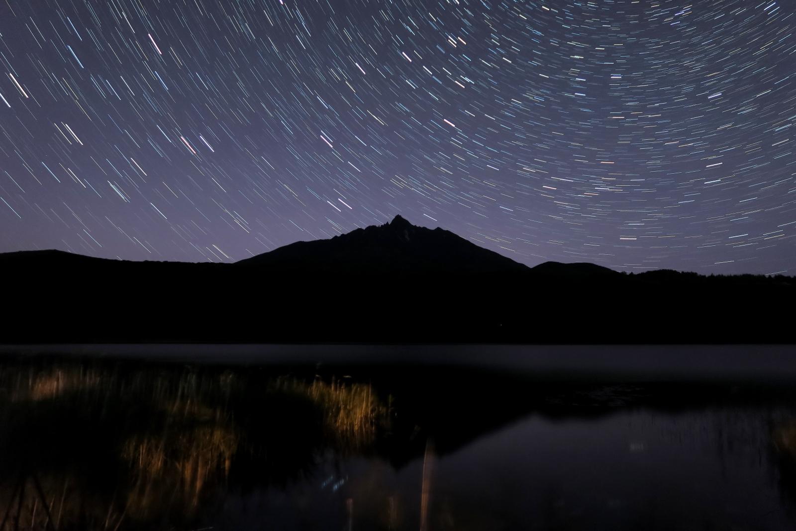 利尻島星空風景のイメージ