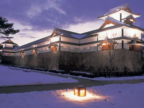 金沢城ライトアップ(2月頃) イメージ