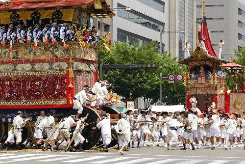 祇園祭 山鉾巡行のイメージ