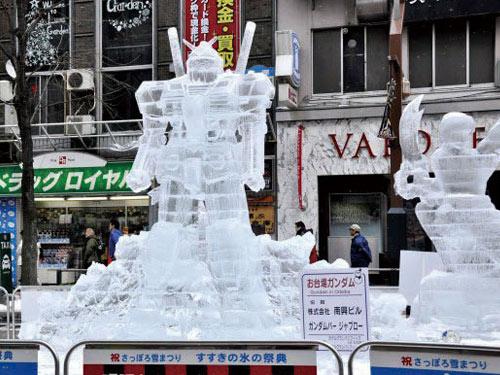 さっぽろ雪まつり 氷の祭典 すすきの会場(過去開催時) イメージ