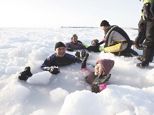 3日目 知床流氷遊ウォークのイメージ