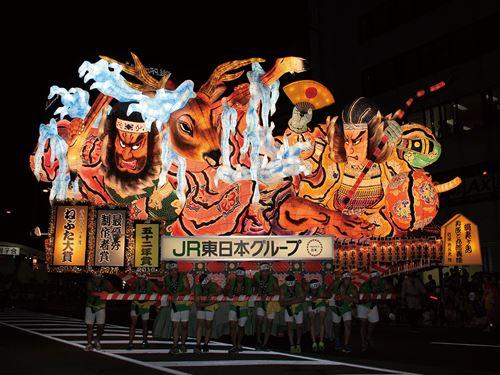 青森ねぶた祭りのイメージ ※写真提供:(社)青森観光コンベンション協会(54)
