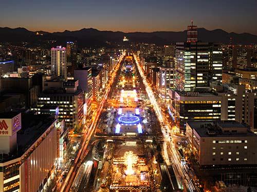 【JRパス(1日券)付】JALで年末年始に札幌へ行こう! 2〜5日間