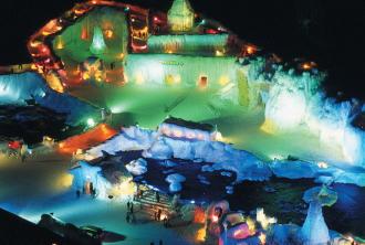 層雲峡氷瀑まつりのイメージ
