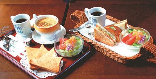 神戸にしむら珈琲店の食事イメージ