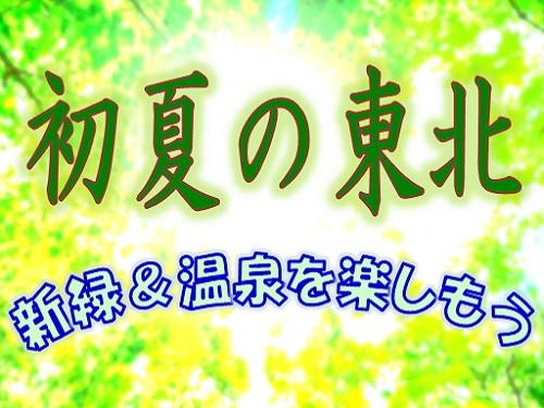 新緑&山菜&温泉を楽しもう<岩手県> 花巻温泉で初夏を満喫! 和室12畳+踏込【夕朝食付】