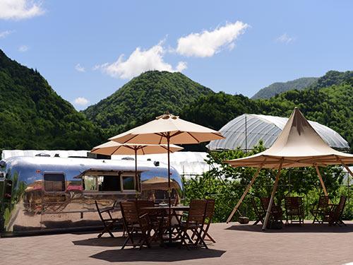 定山渓ファーム 飲食スペースのイメージ