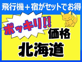 【JALで行く】札幌の人気ホテルに泊まる!ポッキリ31,000円 3日間
