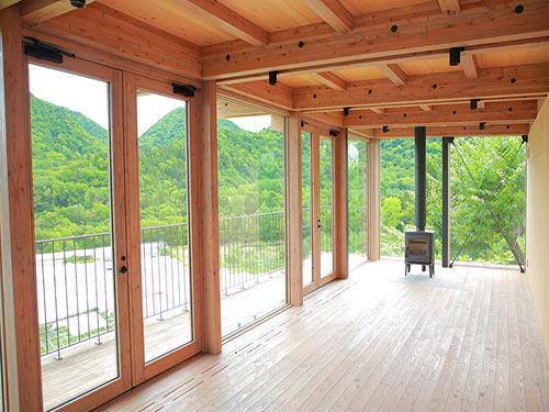 定山渓ファーム 展望テラスのイメージ