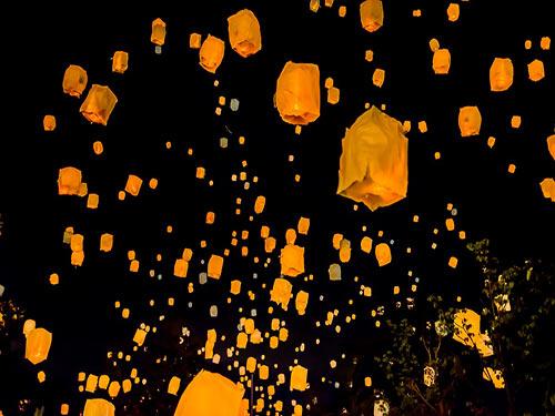 五稜郭 星空ランタン のイメージ(注:初開催イベントのため写真はイメージとなります)